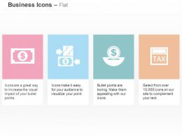 dollar_note_advance_tax_payment_money_control_ppt_icons_graphics_Slide01