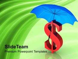 dollar_under_protection_financial_security_powerpoint_templates_ppt_themes_and_graphics_0313_Slide01