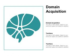 Domain Acquisition Ppt Powerpoint Presentation File Themes Cpb
