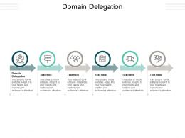 Domain Delegation Ppt Powerpoint Presentation Portfolio Format Ideas Cpb