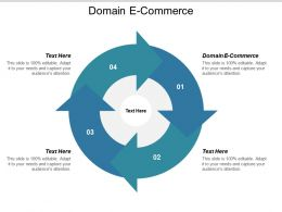 Domain E Commerce Ppt Powerpoint Presentation Outline Graphics Cpb