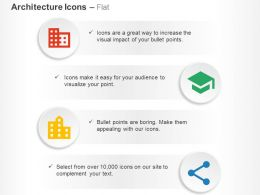Domain School Location City Share Ppt Icons Graphics
