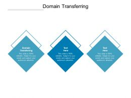 Domain Transferring Ppt Powerpoint Presentation Inspiration Show Cpb