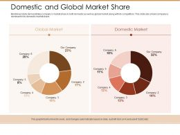 Domestic And Global Market Share Ppt Powerpoint Graphic Images