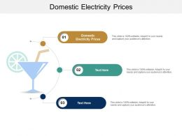 Domestic Electricity Prices Ppt Powerpoint Presentation Inspiration Files Cpb