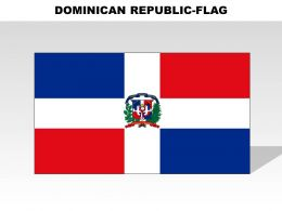 Dominican Republic Country Powerpoint Flags