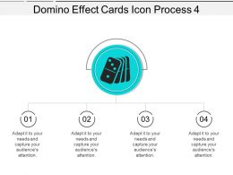 Domino Effect Cards Icon Process 4