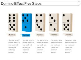 Domino Effect Five Steps