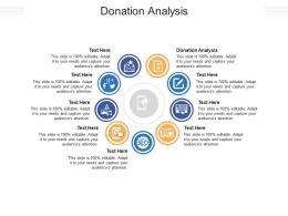 Donation Analysis Ppt Powerpoint Presentation Icon Visual Aids Cpb