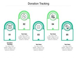 Donation Tracking Ppt Powerpoint Presentation Portfolio Images Cpb