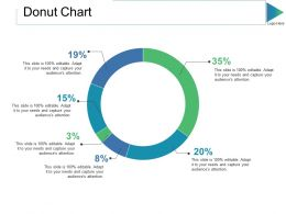 Donut Chart Ppt Slides Portrait