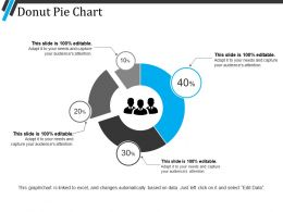 Donut Pie Chart Example Ppt Presentation