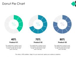 Donut Pie Chart Marketing Ppt Powerpoint Presentation Pictures Guidelines
