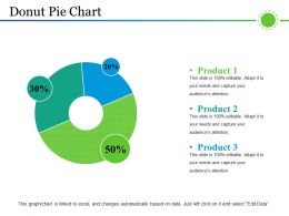 Donut Pie Chart Powerpoint Layout Powerpoint Presentation