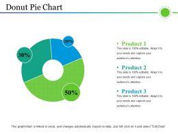 Donut Pie Chart Powerpoint Layout Powerpoint Presentation