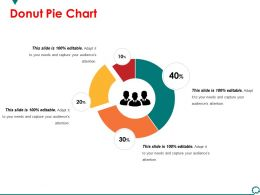 Donut Pie Chart Powerpoint Slide Background Designs