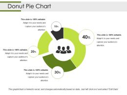 Donut Pie Chart Powerpoint Slide Deck