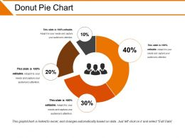 Donut Pie Chart Powerpoint Slide Deck Template