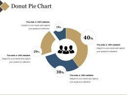 Donut Pie Chart Powerpoint Slide Show