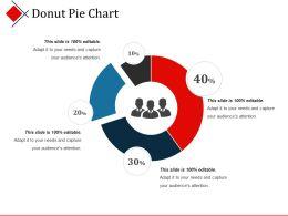 Donut Pie Chart Powerpoint Templates Microsoft