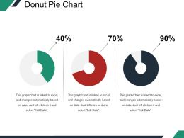 Donut Pie Chart Ppt Background