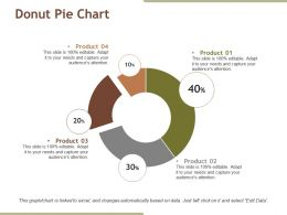 Donut Pie Chart Ppt Diagrams