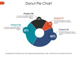Donut Pie Chart Ppt Example File