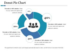 Donut Pie Chart Ppt File Display