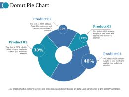 Donut Pie Chart Ppt Icon Example