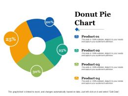 Donut Pie Chart Ppt Infographics File Formats
