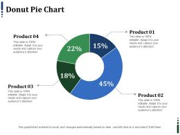 Donut Pie Chart Ppt Infographics Graphics Example