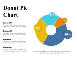 Donut Pie Chart Ppt Layouts Icons
