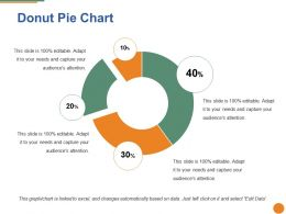 Donut Pie Chart Ppt Pictures Grid