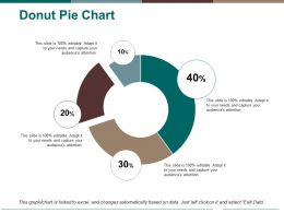 Donut Pie Chart Ppt Pictures Layouts