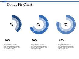 Donut Pie Chart Ppt Powerpoint Presentation Portfolio