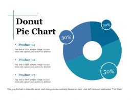 Donut Pie Chart Ppt Styles Graphics Template