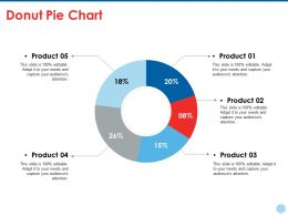 Donut Pie Chart Ppt Styles Layout Ideas