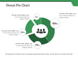 Donut Pie Chart Ppt Styles Slide Download