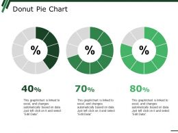 Donut Pie Chart Ppt Summary Background Images