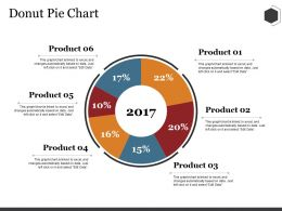 Donut Pie Chart Ppt Summary Rules