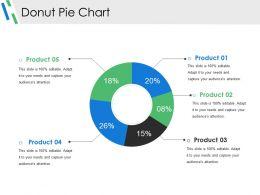 Donut Pie Chart Presentation Deck