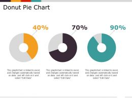 Donut Pie Chart Presentation Design