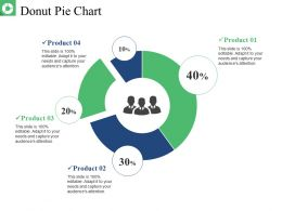 Donut Pie Chart Presentation Layouts
