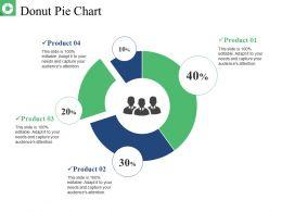 Donut Pie Chart Presentation Layouts