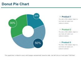 Donut Pie Chart Presentation Powerpoint