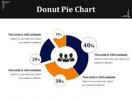 Donut Pie Chart Presentation Visual Aids