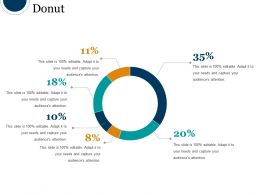 Donut Powerpoint Slide Introduction