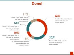 Donut Ppt Design