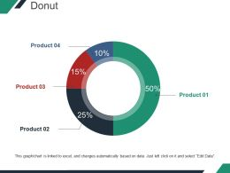 Donut Ppt Design Template 2