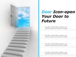Door Icon-Open Your Door To Future